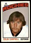 1976 O-Pee-Chee NHL #372  Colin Campbell  Front Thumbnail