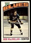 1976 O-Pee-Chee NHL #38  Bob MacMillan  Front Thumbnail