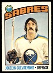 1976 O-Pee-Chee NHL #108  Jocelyn Guevremont  Front Thumbnail