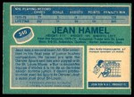 1976 O-Pee-Chee NHL #340  Jean Hamel  Back Thumbnail