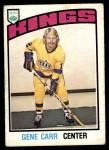 1976 O-Pee-Chee NHL #290  Gene Carr  Front Thumbnail