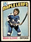 1976 O-Pee-Chee NHL #99  Brian Glennie  Front Thumbnail