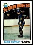 1976 Topps #78  Craig Ramsay  Front Thumbnail
