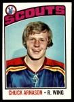 1976 Topps #92  Chuck Arnason  Front Thumbnail