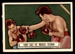 1951 Topps Ringside #44   -  Tony Zale / Marcel Cerdan Zale vs Cerdan Front Thumbnail