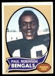 1970 Topps #137  Paul Robinson  Front Thumbnail