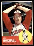 1963 Topps #194  Joe Nuxhall  Front Thumbnail