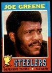 1971 Topps #245  Joe Greene  Front Thumbnail
