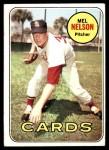 1969 Topps #181  Mel Nelson  Front Thumbnail