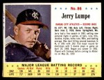 1963 Jello #86  Jerry Lumpe  Front Thumbnail