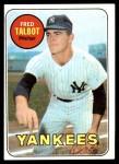 1969 Topps #332  Fred Talbot  Front Thumbnail