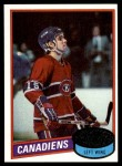 1980 Topps #261  Rejean Houle  Front Thumbnail