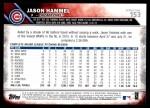 2016 Topps #153  Jason Hammel  Back Thumbnail