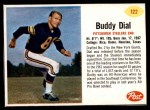 1962 Post #122  Buddy Dial  Front Thumbnail