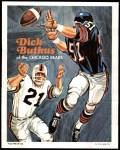 1970 Topps Poster #11  Dick Butkus  Front Thumbnail