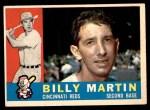 1960 Topps #173  Billy Martin  Front Thumbnail