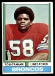 1974 Topps #432  Tom Graham  Front Thumbnail