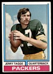 1974 Topps #374  Jerry Tagge  Front Thumbnail