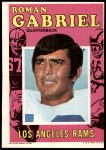 1971 Topps Football Posters #8  Roman Gabriel  Front Thumbnail