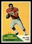 1960 Fleer #16  Tom Dimitroff  Front Thumbnail