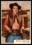 1953 Topps Who-Z-At Star #58  Robert Horton  Front Thumbnail