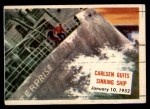 1954 Topps Scoop #126   Carlsen Quits Sinking Ship Front Thumbnail