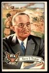 1956 Topps U.S. Presidents #35  Harry S. Truman  Front Thumbnail