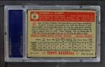 1952 Topps #61  Tookie Gilbert  Back Thumbnail