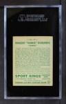 1933 Goudey Sport Kings #23  Vincent Richards   Back Thumbnail