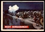 1956 Topps Davy Crockett #58   Night Bombardment  Front Thumbnail