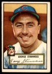 1952 Topps #217  George Stirnweiss  Front Thumbnail