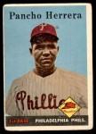 1958 Topps #433 COR Pancho Herrera  Front Thumbnail