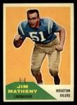 1960 Fleer #122  Jim Matheny  Front Thumbnail