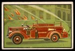 1953 Bowman Firefighters #54   Modern Special Apparatus - Mack Front Thumbnail