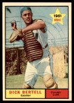 1961 Topps #441  Dick Bertell  Front Thumbnail