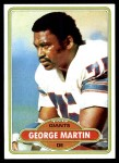1980 Topps #55  George Martin  Front Thumbnail