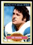 1980 Topps #190   -  Ed White All-Pro Front Thumbnail