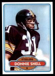 1980 Topps #256  Donnie Shell  Front Thumbnail