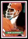 1980 Topps #398  Bob Jackson  Front Thumbnail