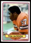 1980 Topps #323  Tom Jackson  Front Thumbnail