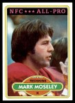 1980 Topps #320   -  Mark Moseley All-Pro Front Thumbnail
