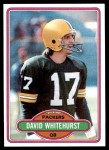 1980 Topps #367  David Whitehurst  Front Thumbnail