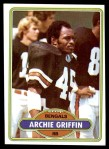 1980 Topps #457  Archie Griffin  Front Thumbnail