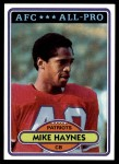 1980 Topps #415  Mike Haynes  Front Thumbnail