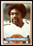 1980 Topps #464  Clark Gaines  Front Thumbnail