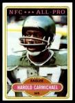 1980 Topps #420  Harold Carmichael  Front Thumbnail
