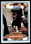 1980 Topps #442  James Scott  Front Thumbnail