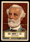 1952 Topps Look 'N See #34  Robert E Lee  Front Thumbnail