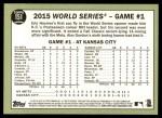 2016 Topps Heritage #151 A  -  Eric Hosmer Hosmer's Sac Fly Wins Game Back Thumbnail