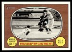 2016 Topps Heritage #153 A  -  Salvador Perez World Series MVP Clubs Three Hits Front Thumbnail